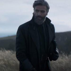 Oscar Isaac Dune 2021 Duke Leto Atreides Black Trench Coat