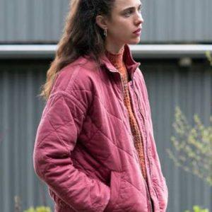 Maid-2021-Margaret-Qualley-Pink-Jacket