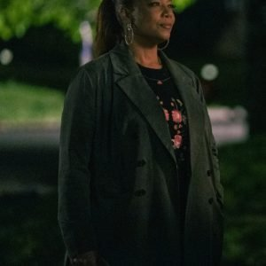 Queen Latifah TV Series The Equalizer S02 Grey Trench Coat