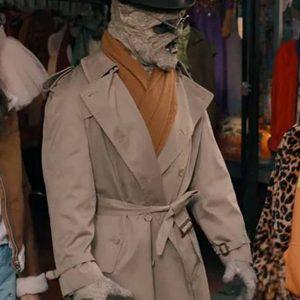 Under Wraps Mummy Long Beige Coat